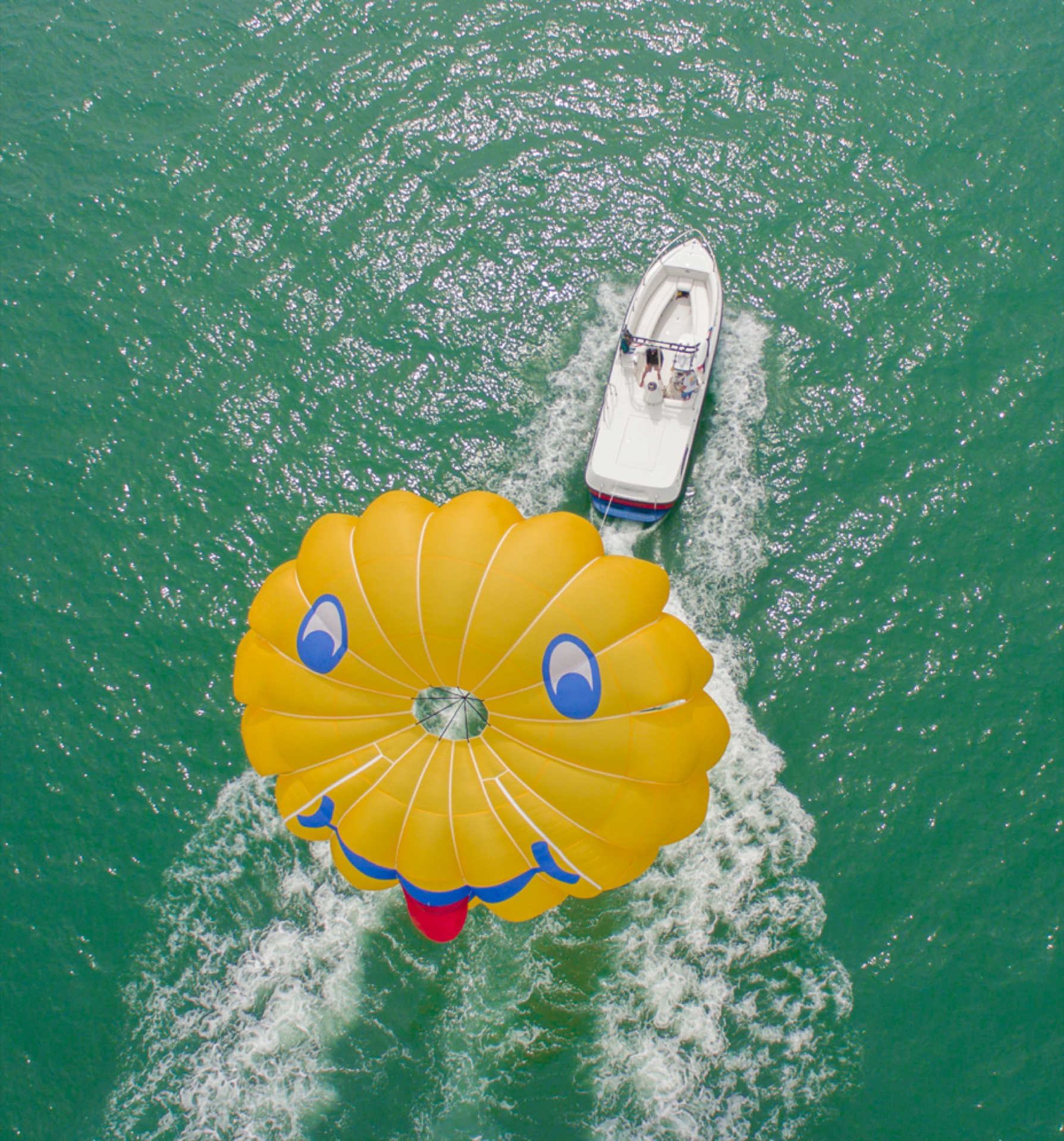 Private Charter Parasailing Boat
